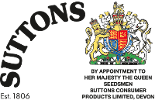 Suttons Royal Warrant logo