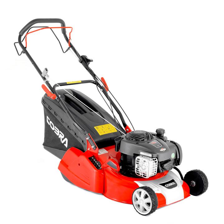 Cobra 16 Petrol Powered Rear Roller Lawnmower BandS