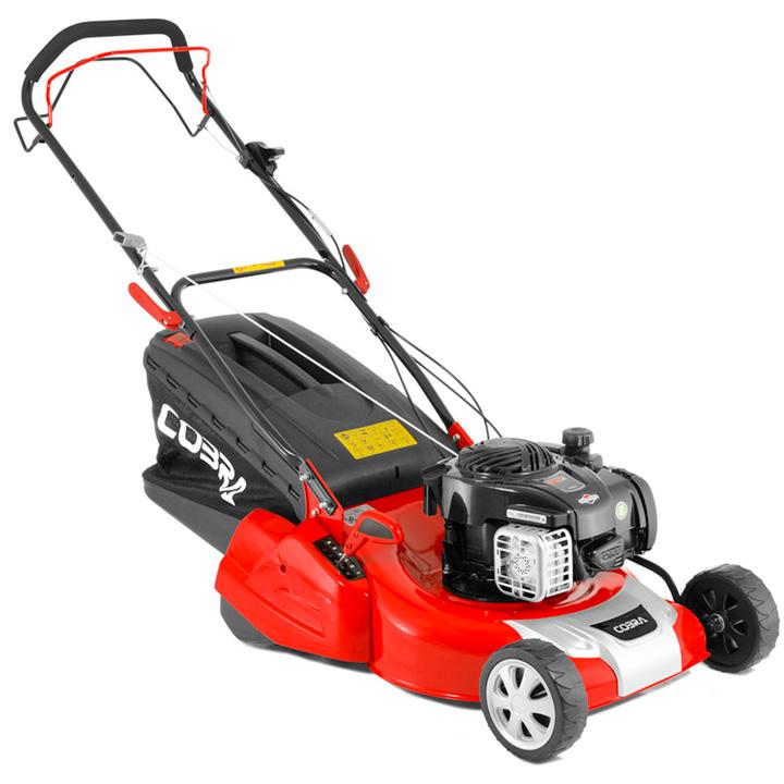 Cobra 18 Petrol Powered Rear Roller Lawn Mower BandS