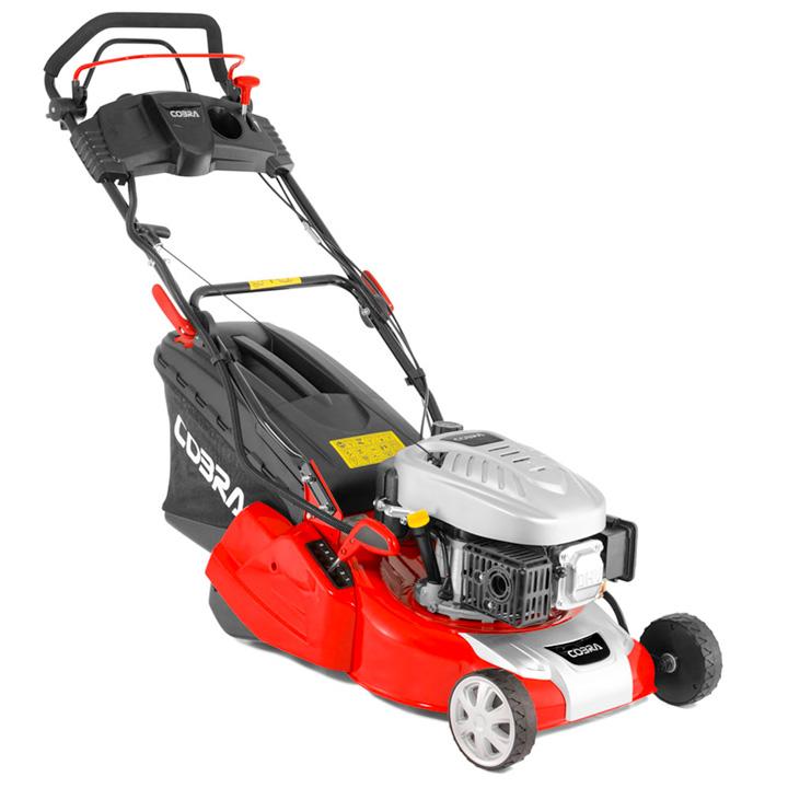 Cobra 16 Petrol Rear Roller Lawnmower Electric Start