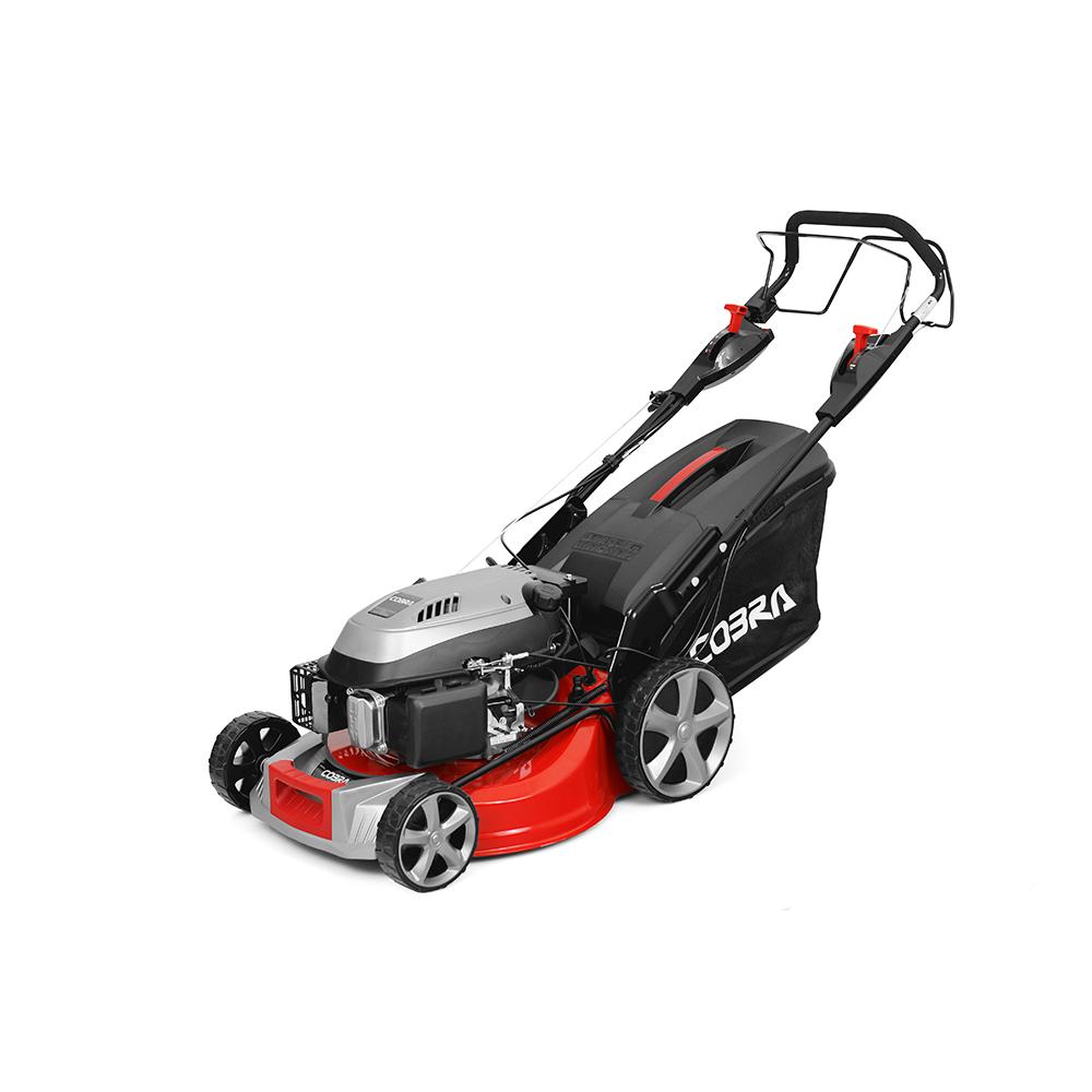 Cobra 18 Petrol Premium Lawnmower Electric Start