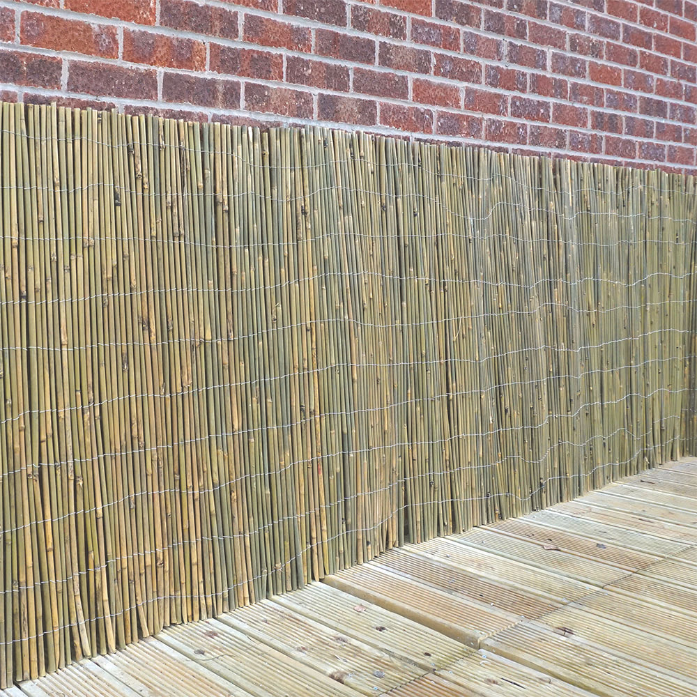 Bamboo Cane Screen Roll