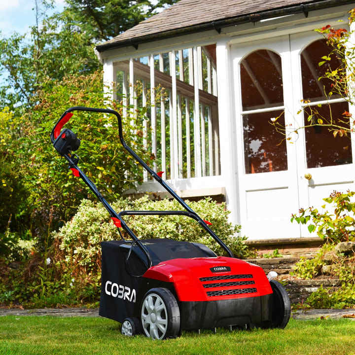 Cobra Electric Scarifier and Aerator 2 in 1